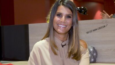 """Exclu. Karine Ferri (Danse avec les stars 10) : """"J'ai hâte de vivre certains de mes moments télé avec mes enfants"""" (VIDEO)"""
