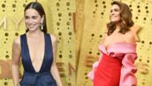 Emmy Awards 2019 : Emilia Clarke très décolletée, Mandy Moore en robe fendue, le top du tapis rouge (PHOTOS)