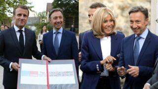 Emmanuel et Brigitte Macron complices avec Stéphane Bern pour les Journées du Patrimoine (PHOTOS)