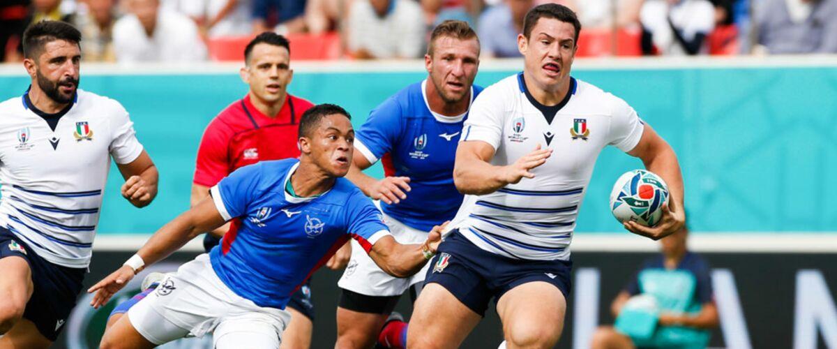 Coupe du monde de rugby 2019 : sur quelle chaîne et à quelles heures suivre Italie/Canada et Angleterre/USA ?