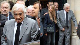 Obsèques de Charles Gérard : effondré, Jean-Paul Belmondo dit adieu à son meilleur ami (PHOTOS)