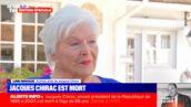 """Mort de Jacques Chirac. Line Renaud en larmes sur BFM TV : """"J'ai beaucoup de chagrin, mais c'est mieux comme ça..."""""""