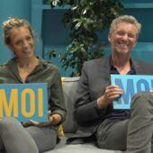 Le plus sportif ? Le meilleur accent anglais ? Le plus calé en troisième mi-temps ? Clémentine Sarlat et Denis Brogniart se prêtent au jeu du Guess Who (VIDEO)