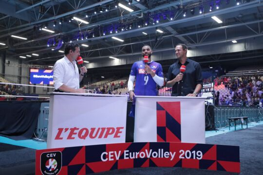 Euro de volley: la Serbie sur le toit de l'Europe
