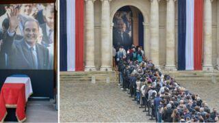Mort de Jacques Chirac : les images émouvantes de l'hommage populaire aux Invalides (PHOTOS)