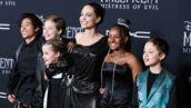 Angelina Jolie tout sourire et entourée de ses enfants à l'avant-première de Maléfique 2 (PHOTOS)