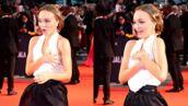 Lily-Rose Depp : son léger accident de décolleté sous les yeux de Timothée Chalamet (PHOTOS)