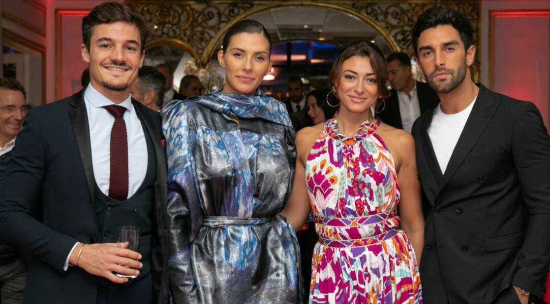 Parmi les Miss France, Camille Cerf et Rachel Legran-trapani sont arrivées accompagnées de leurs compagnons...