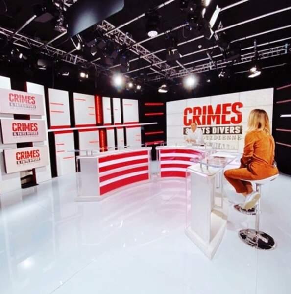"""Déjà présente dans """"Crimes et faits divers, la quotidienne"""", elle présente désormais le magazine """"Héros"""""""