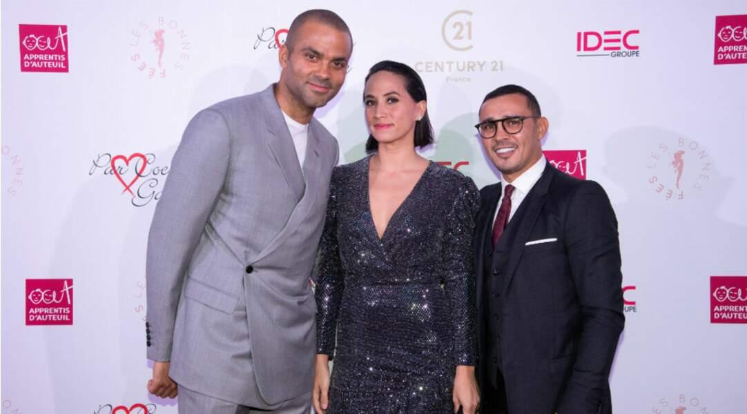 Brahim Asloum était également présent au côté du couple