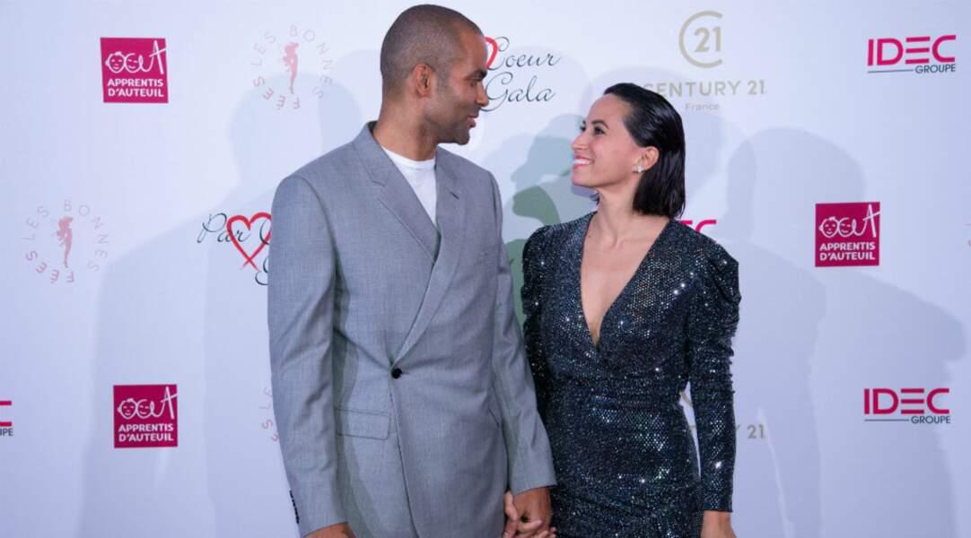 Et il peut compter sur le soutien de sa ravissante femme, Axelle Francine !