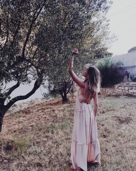 ... auprès des oliviers...