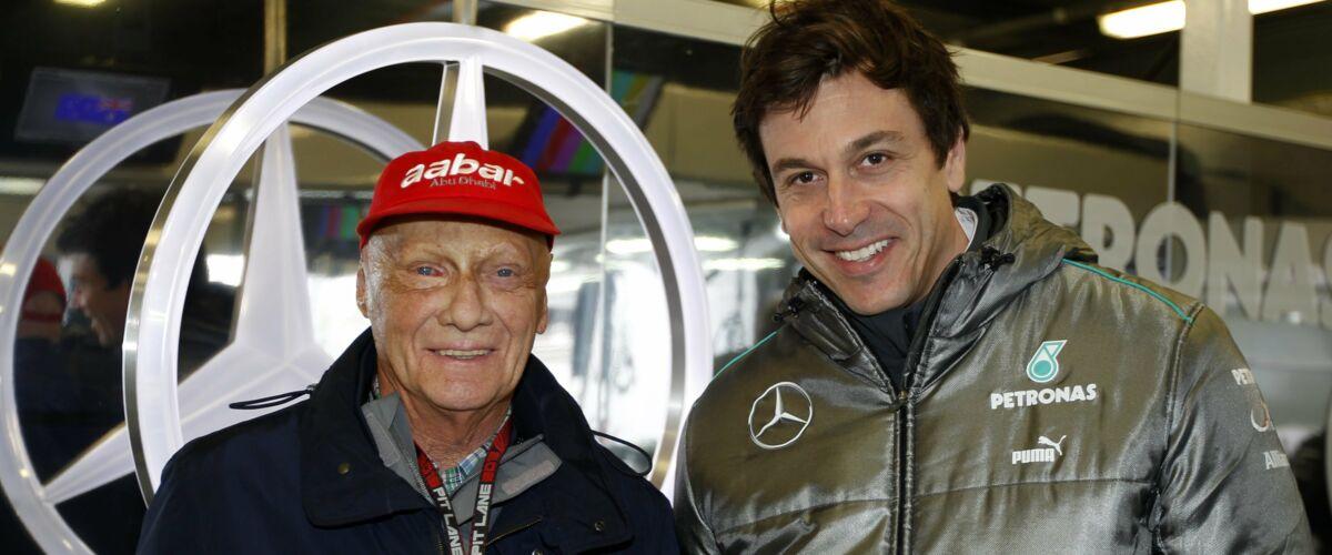 Formule 1 : Toto Wolff dédie le titre des constructeurs de Mercedes à Niki Lauda