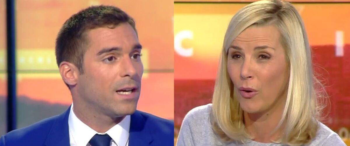 """Violente passe d'armes entre Laurence Ferrari et l'élu RN Julien Odoul en direct sur CNews : """"Vous n'êtes pas"""