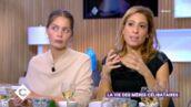 """Léa Salamé se confie avec tendresse sur sa grossesse dans C à vous : """"c'est un moment où on est insécurisé"""" (VIDEO)"""