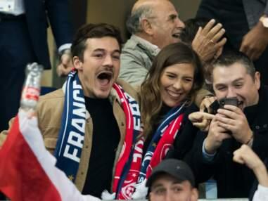 Camille Cerf et son amoureux, Big Flo et Oli, Tatiana Silva… Pluie de stars pour supporter les Bleus face à la Turquie