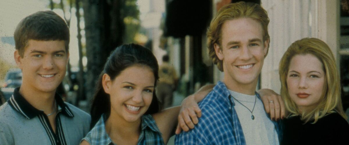 Alerte nostalgie : James Van Der Beek retrouve ses anciens partenaires dans Dawson !