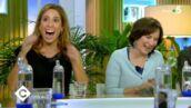 Léa Salamé amusée par un lapsus d'Ali Baddou sur Laurence Rossignol dans C à Vous  (VIDEO)