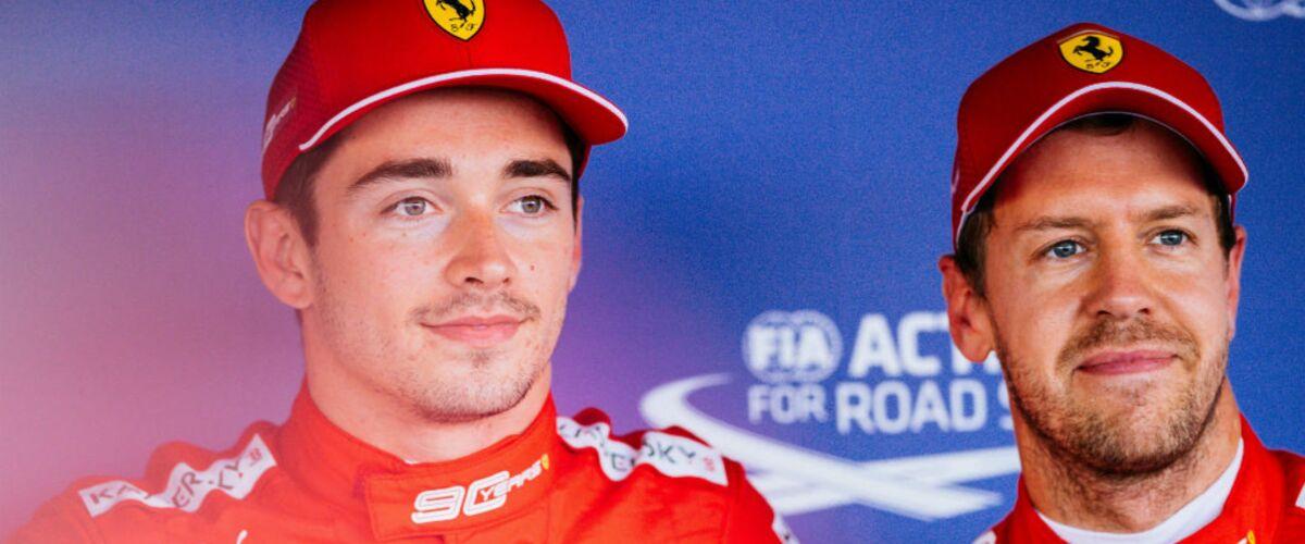 Charles Leclerc : quelle est l'origine de sa rivalité avec Sebastian Vettel ?