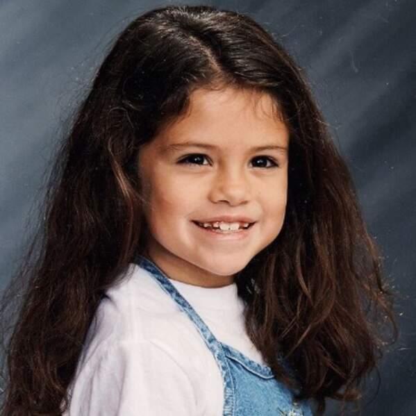 Et de même pour Selena Gomez, adorable.