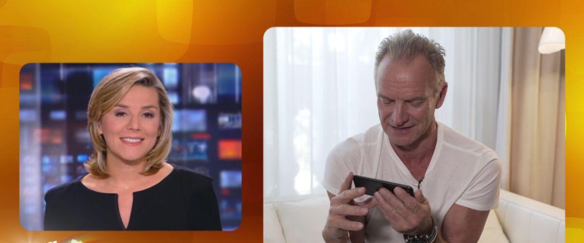 Exclu. Sting découvre ENFIN le lapsus de Laurence Ferrari dans le JT de TF1, il réagit dans Les enfants de la