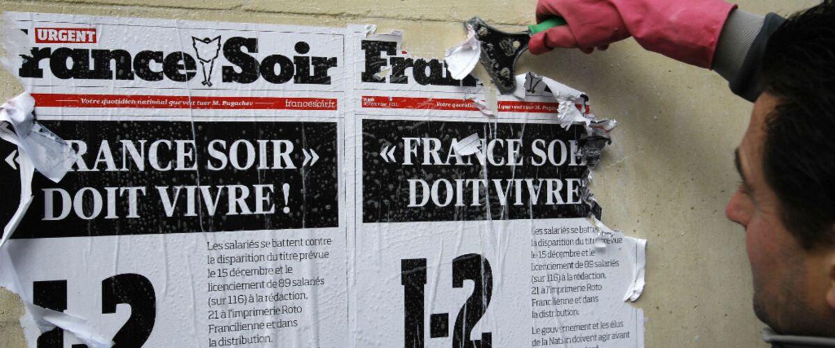 France-Soir : l'ensemble des journalistes licencié pour motif économique