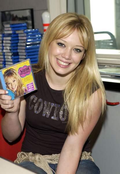 Vers la fin de Lizzie McGuire en 2004, Hilary Duffy a adopté un style plus sobre