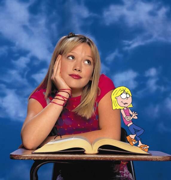 A l'âge de 13 ans, Hilary Duff est devenue l'idole des jeunes grâce à son rôle dans la série Lizzie McGuire