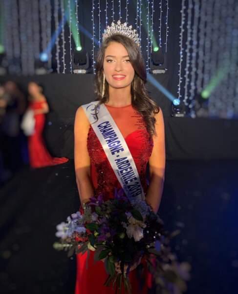 On vous présente Lucile Moine, élue Miss Champagne-Ardenne