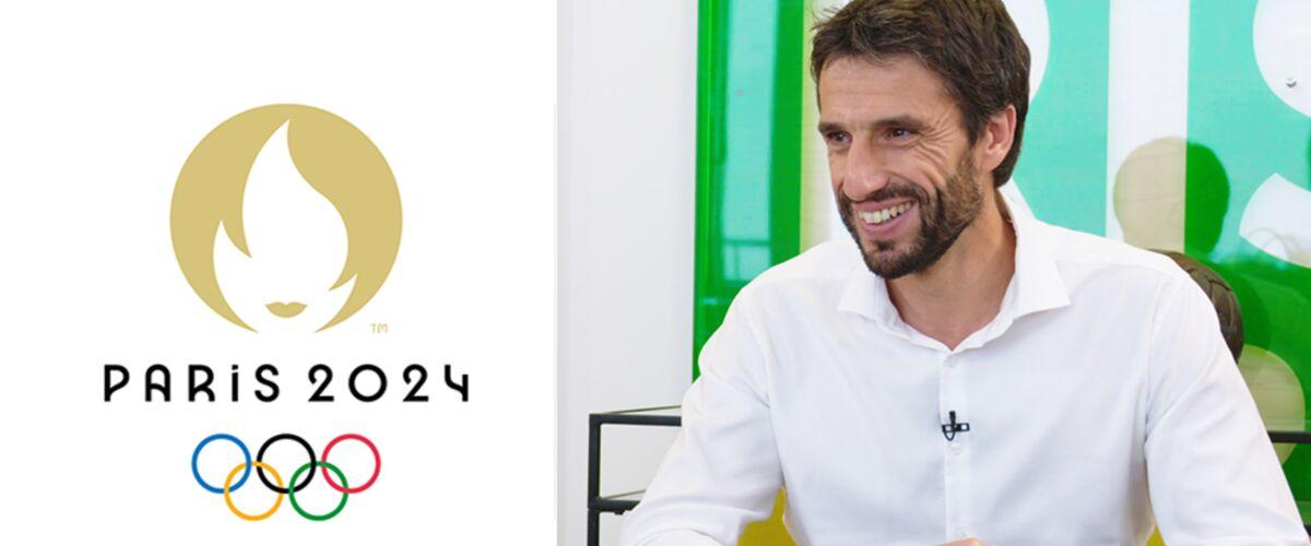 """Paris 2024 : Tony Estanguet défend le nouveau logo des JO, """"Quand on prend des risques, on s'attend à la criti"""