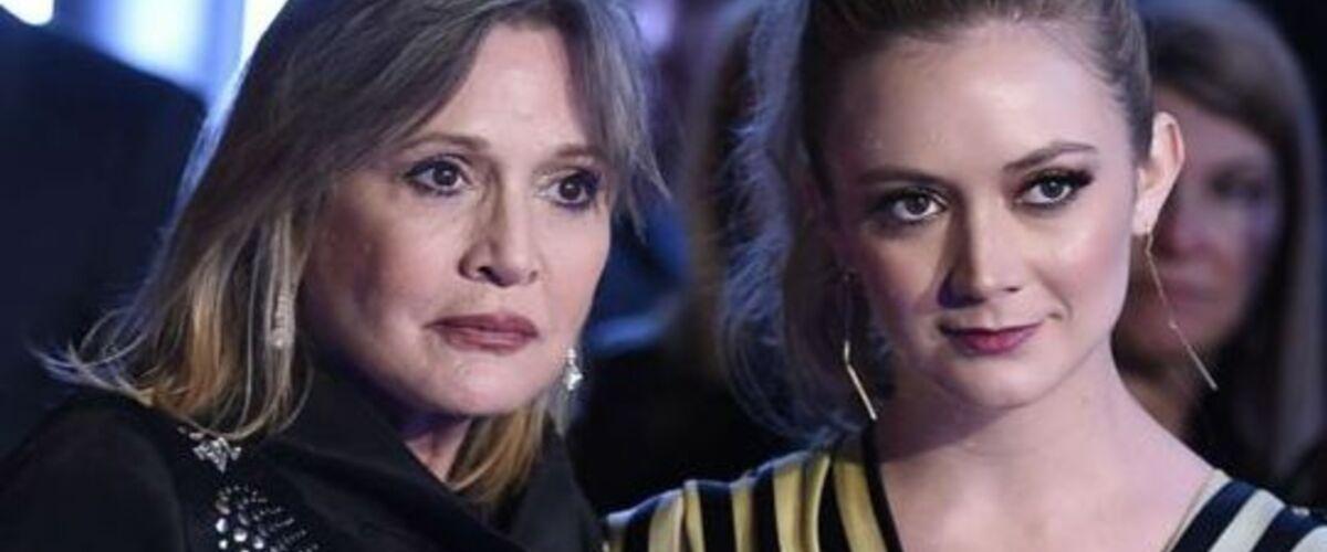 Billie Lourd rend un hommage bouleversant à sa mère Carrie Fisher pour son anniversaire