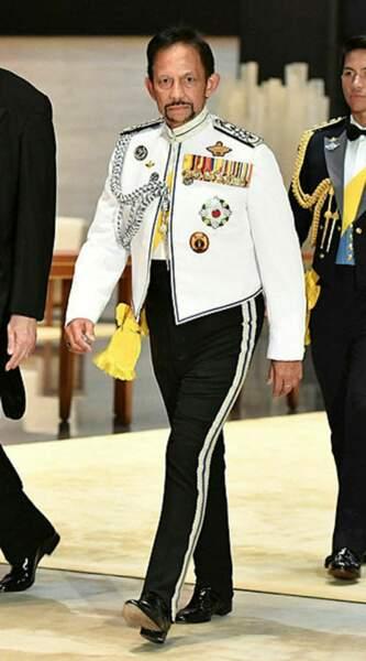Le sultan du Brunei