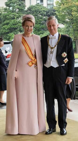 Le roi Philippe de Belgique et la reine Mathilde