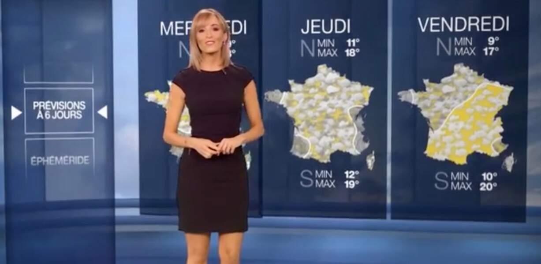 Stéphanie Duval est l'une des trois présentatrices météo de M6