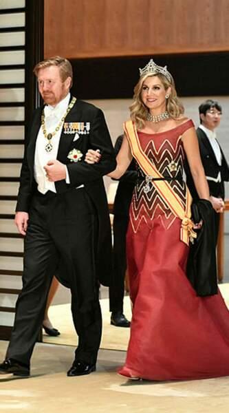 Le roi Willem-Alexander et la reine Maxima des Pays-Bas
