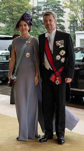 Le prince Frederik et son épouse Mary du Danemark
