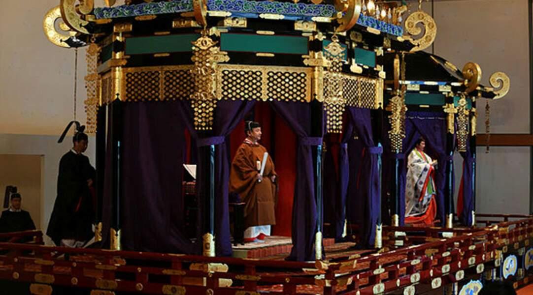 L'intronisation de l'empereur du Japon Naruhito s'est déroulée mardi 22 octobre