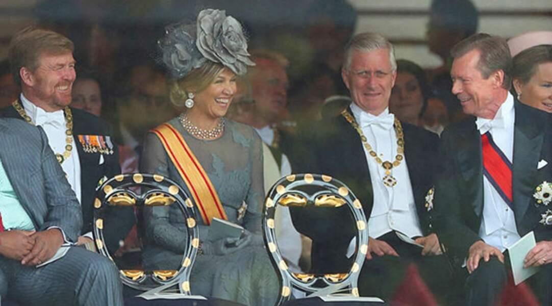 Chefs d'États et altesses royales étaient nombreux à assister aux festivités