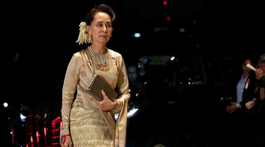 La dirigeante birmane Aung San Suu Kyi
