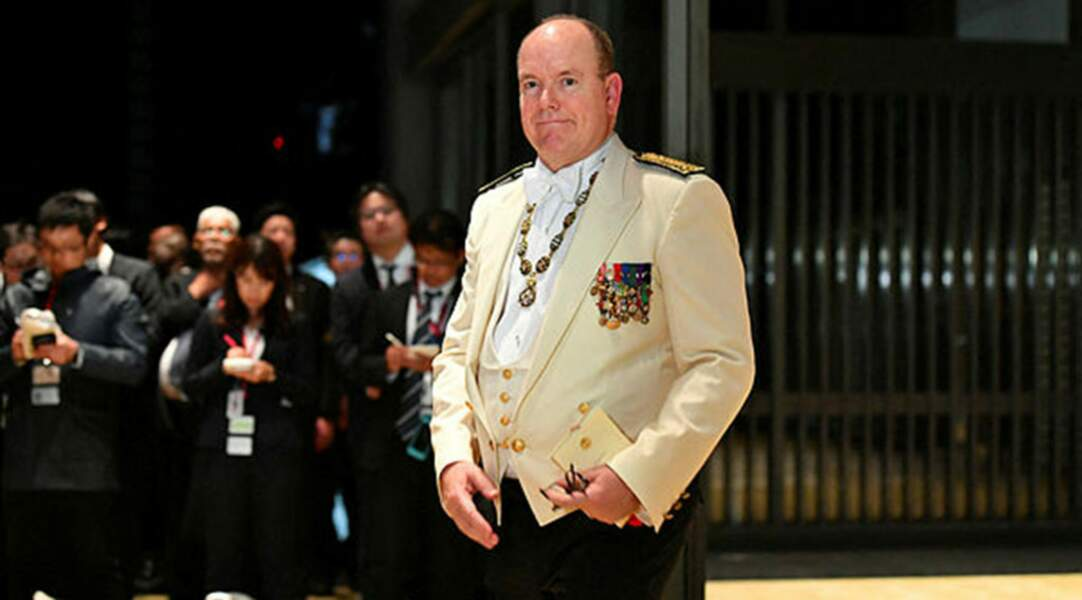 Le prince Albert de Monaco