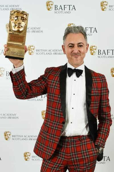 Le comédien, né en 1965, a reçu un Bafta Award en 2018