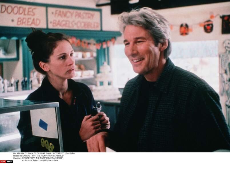 Presque dix ans après Pretty Woman, elle retrouve Richard Gere dans Just Married (ou presque)