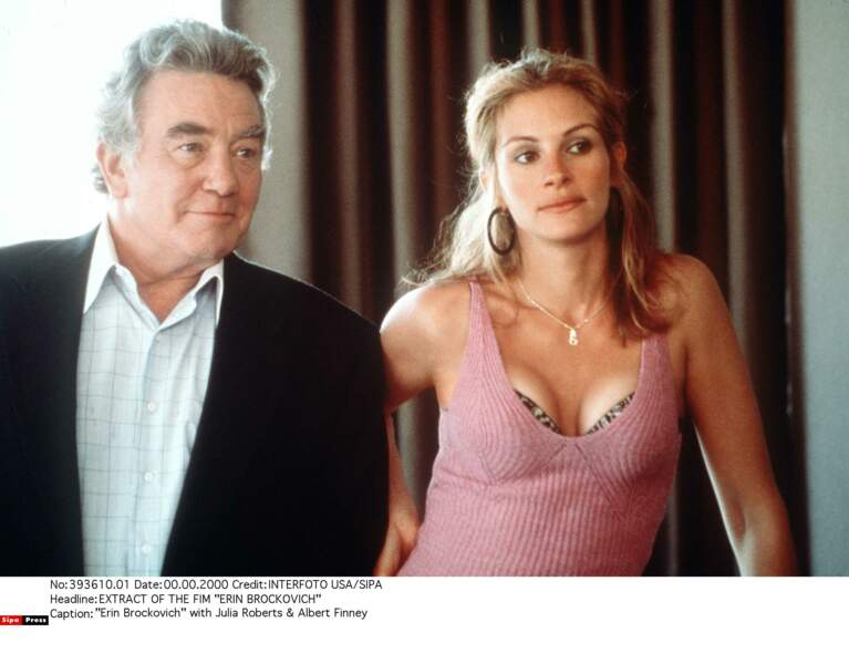 Elle impressionne avec le rôle d'Erin Brockovich (2000)