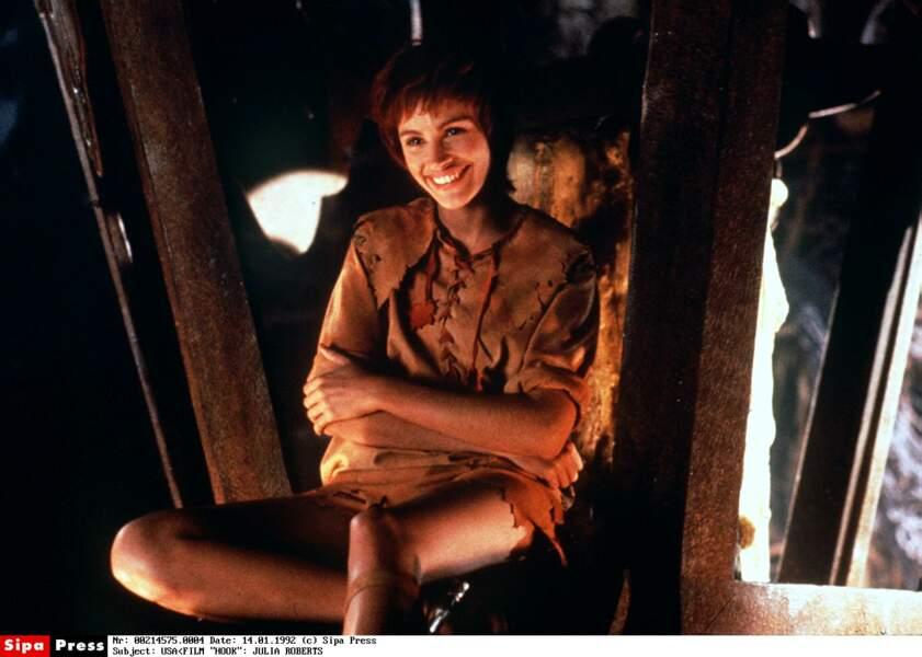 Première transformation radicale avec son rôle dans Hook (1991)