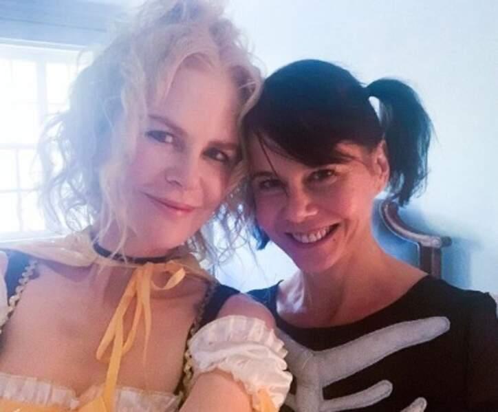 Il n'y a aucun doute : Nicole Kidman et sa sœur Antonia sont bien de la même famille.