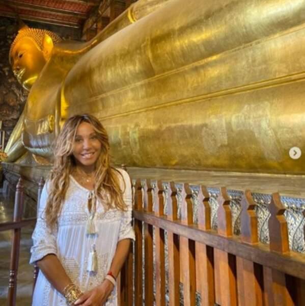 On espère que votre semaine était aussi rayonnante que le Bouddha derrière Cathy Guetta.