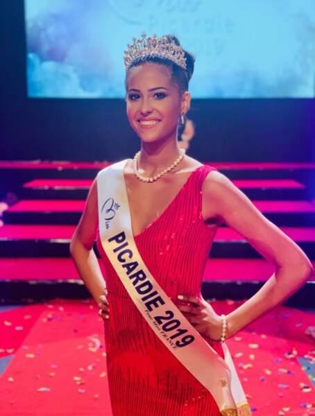 Et voici Morgane Fradon, Miss Picardie !