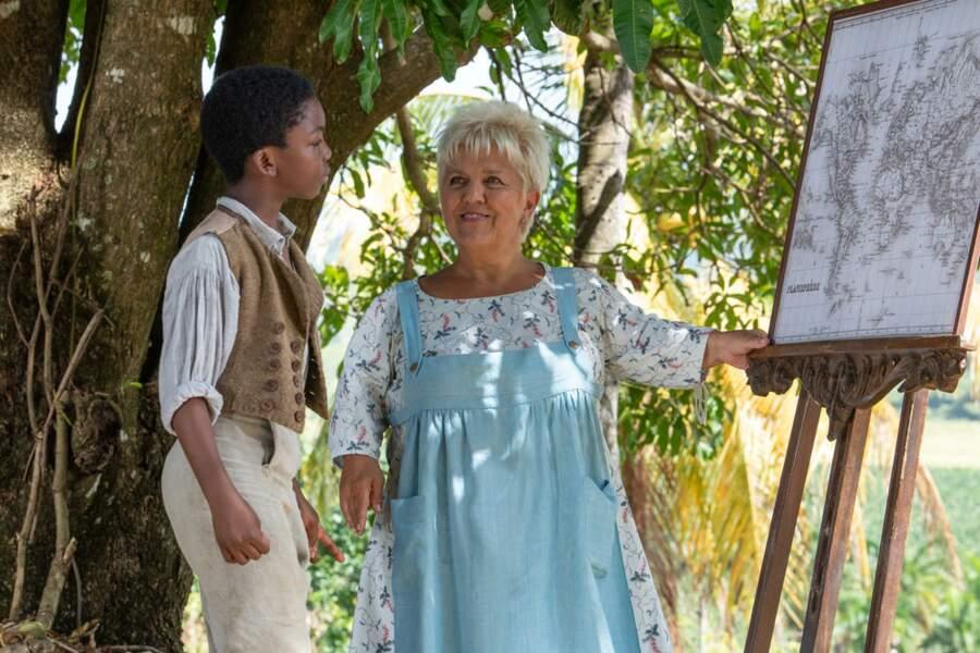 Mimi Mathy a aussi joué les gouvernantes dans la Martinique du 19ème siècle