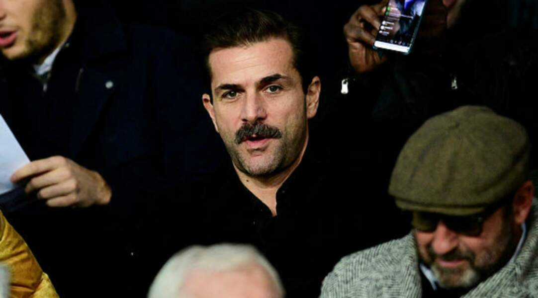 Belle moustache pour Grégory Fitoussi !