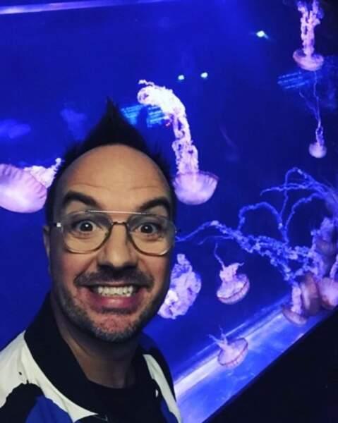 Et Jarry était content d'être heureux, entouré de méduses.